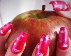 Технологія нарощування нігтів акрилом фото