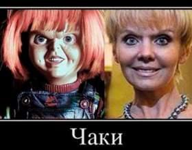 Українка анастасія приходько порівняла співачку валерію з лялькою чаки фото