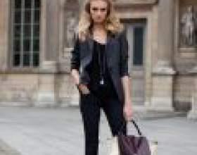 Зручна вулична мода для дівчини фото