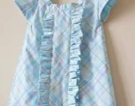 Універсальна форма дитячого сукні та інструкція з пошиття фото
