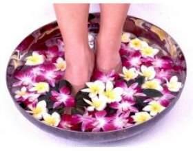 Ванночки для ніг в домашніх умовах фото