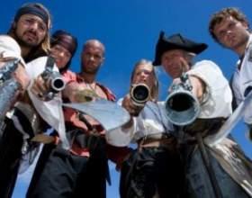 Піратська вечірка: сценарій свята фото