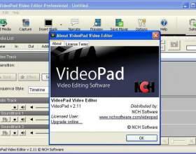 Videopad video editor - відео редактор, гідний уваги фото