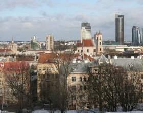 Вільнюс - столиця якої країни? Пам'ятки, готелі, аеропорт вільнюса фото