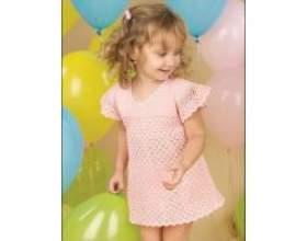 В'язане плаття для дівчинки фото
