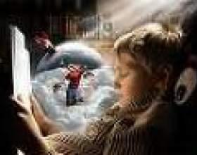 Вплив казки на сприйняття світу очима малюка фото
