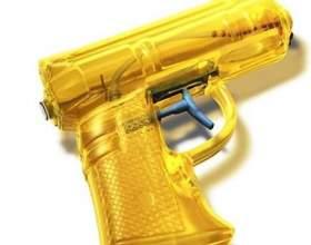 Водяний пістолет: одна назва різних понять фото