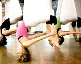 Повітряна йога фото