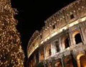 Новорічні свята в римі фото