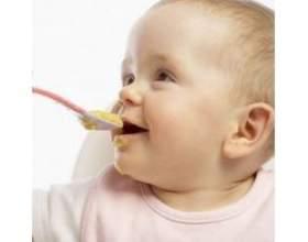 Введення прикорму дітям до року фото