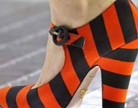 Туфлі на товстому каблуці: з чим носити? фото