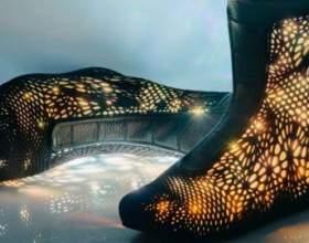 Високотехнологічна взуття майбутнього на тижні моди в нью-йорку фото