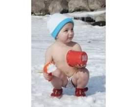 Загартовування - зміцнення імунітету у дітей фото