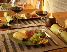 Закуска до вина червоного і білого фото