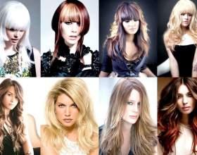 Жіночі стрижки для довгого волосся фото