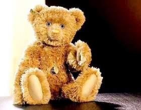 Золотий плюшевий ведмедик фото